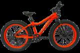 """Велосипед Фэтбайк Tech Team Garet 24"""" оранжевый"""