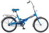 Складной подростковый велосипед Novatrack FP-20  20'' синий