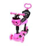 Самокат Scooter 21st.5в1 Божья коровка розовый