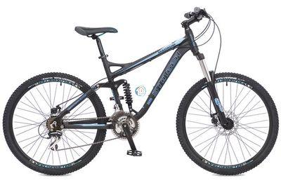 """Двухподвесный горный велосипед Stinger Magnum D 26"""" синий"""