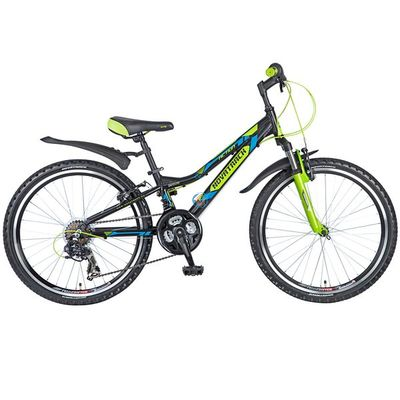 """Подростковый алюминевый велосипед Novatrack Action 24"""""""
