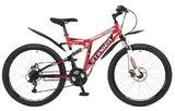 """Двухподвесный горный велосипед Stinger Highlander 26"""" 100D"""