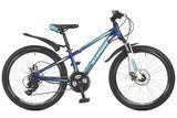 """Подростковый горный велосипед Stinger Aragon 24"""" синий"""