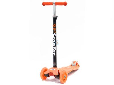 """Самокат трехколесный """"21st Scooter"""" MAXI оранжевый"""