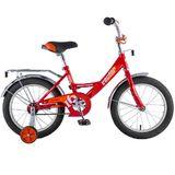 """Детский велосипед Novatrack Vector 16"""" от 4 до 6 лет красный"""