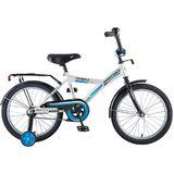 """Детский велосипед Novatrack Forest 18"""" от 5  до 7 лет белый"""