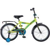 """Детский велосипед Novatrack Forest 18"""" от 5  до 7 лет зеленый"""