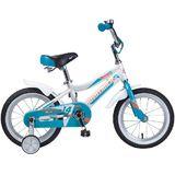 """Детский велосипед Novatrack NOVARA 14"""" от 3 до 5 лет серо-голубой"""