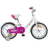 """Детский велосипед Novatrack Ancona 16"""" от 4 до 6 лет белый"""