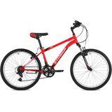 """Подростковый горный велосипед Stinger Caiman 24"""" красный"""