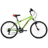 """Подростковый горный велосипед Stinger Caiman 24"""" зеленый"""