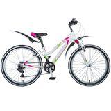 """Подростковый горный велосипед Stinger Latina 24"""" белый"""