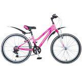 """Подростковый горный велосипед Stinger Latina 24"""" розовый"""