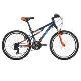 """Подростковый горный велосипед Stinger Discovery 24"""" синий"""