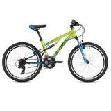 """Подростковый горный велосипед Stinger Discovery 24"""" зеленый"""