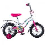 Детский велосипед Novatrack Tetris 12'' от 2 до 4 лет белый