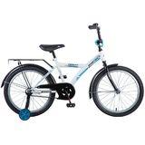Детский велосипед Novatrack Forest 20'' от 6 до 10 лет белый