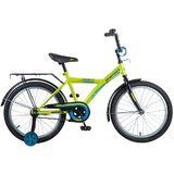 Детский велосипед Novatrack Forest 20'' от 6 до 10 лет зеленый