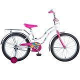 Детский велосипед Novatrack Tetris 20'' от 6 до 10 лет белый