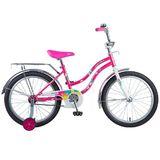 Детский велосипед Novatrack Tetris 20'' от 6 до 10 лет розовый