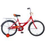 """Детский велосипед Novatrack Vector 20"""" от 6 до 10 лет красный"""