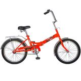 Складной подростковый велосипед Novatrack FP-20  20'' красный