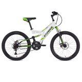 """Подростковый двухподесный велосипед STINGER Highlander 24"""" D белый"""