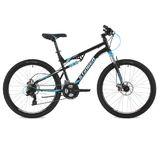 """Двухподвесный горный велосипед Stinger Discovery D 26"""" черный"""