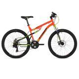 """Двухподвесный горный велосипед Stinger Discovery D 26"""" оранжевый"""