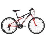 """Двухподвесный горный велосипед Stinger Discovery 26"""" черный"""