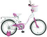 Детский велосипед Novatrack Butterfly 20'' от 6 до 10 лет бело-фиолетовый