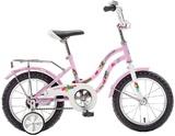 """Детский велосипед Novatrack Tetris 14"""" от 3 до 5 лет розовый"""