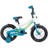 """Детский велосипед Novatrack Valliant 14"""" от 3 до 5 лет белый"""