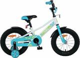 """Детский велосипед Novatrack Valliant 16"""" от 4 до 6 лет белый"""