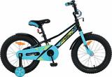 """Детский велосипед Novatrack Valliant 16"""" от 4 до 6 лет черный"""