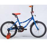 """Детский велосипед Novatrack NEPTUNE 18"""" от 5 до 7 лет синий"""