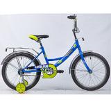 """Детский велосипед Novatrack URBAN 18"""" от 5 до 7 лет синий"""