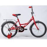 """Детский велосипед Novatrack URBAN 18"""" от 5 до 7 лет красный"""
