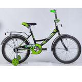"""Детский велосипед Novatrack URBAN 18"""" от 5 до 7 лет черный"""