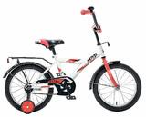 """Детский велосипед Novatrack Astra 18"""" от 5 до 7 лет белый"""