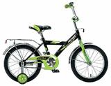 """Детский велосипед Novatrack Astra 18"""" от 5 до 7 лет зеленый"""