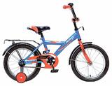 """Детский велосипед Novatrack Astra 18"""" от 5 до 7 лет синий"""