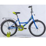 """Детский велосипед Novatrack Urban 20"""" от 6 до 10 лет синий"""