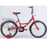 """Детский велосипед Novatrack Urban 20"""" от 6 до 10 лет красный"""