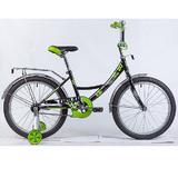 """Детский велосипед Novatrack Urban 20"""" от 6 до 10 лет черный"""