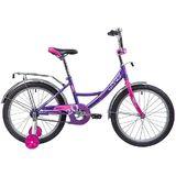 """Детский велосипед Novatrack Vector 20"""" от 6 до 10 лет фиолетовый"""
