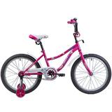 """Детский велосипед Novatrack NEPTUNE 20"""" от 6 до 10 лет розовый"""