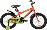"""Детский велосипед Novatrack TORNADO 16"""" от 4 до 6 лет красный"""