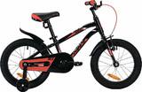 """Детский велосипед Novatrack Prime 16"""" от 4 до 6 лет черный"""