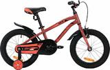 """Детский велосипед Novatrack Prime 16"""" от 4 до 6 лет коричневый"""